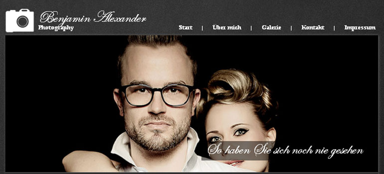 imgNeue Homepage: Benjamin Alexander Photography