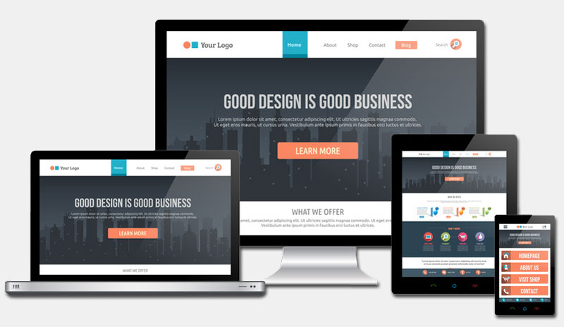 Responsive Layout - Webpages by empago webdesign